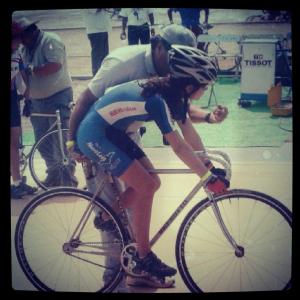 Don't laugh at my really really old track bike hahaha